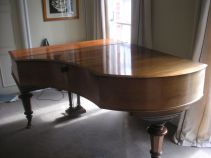 Piano before restoration by DJ Bulpitt