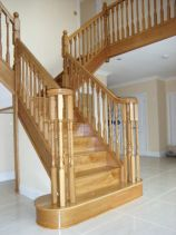 Staircase after restoration by DJ Bulpitt